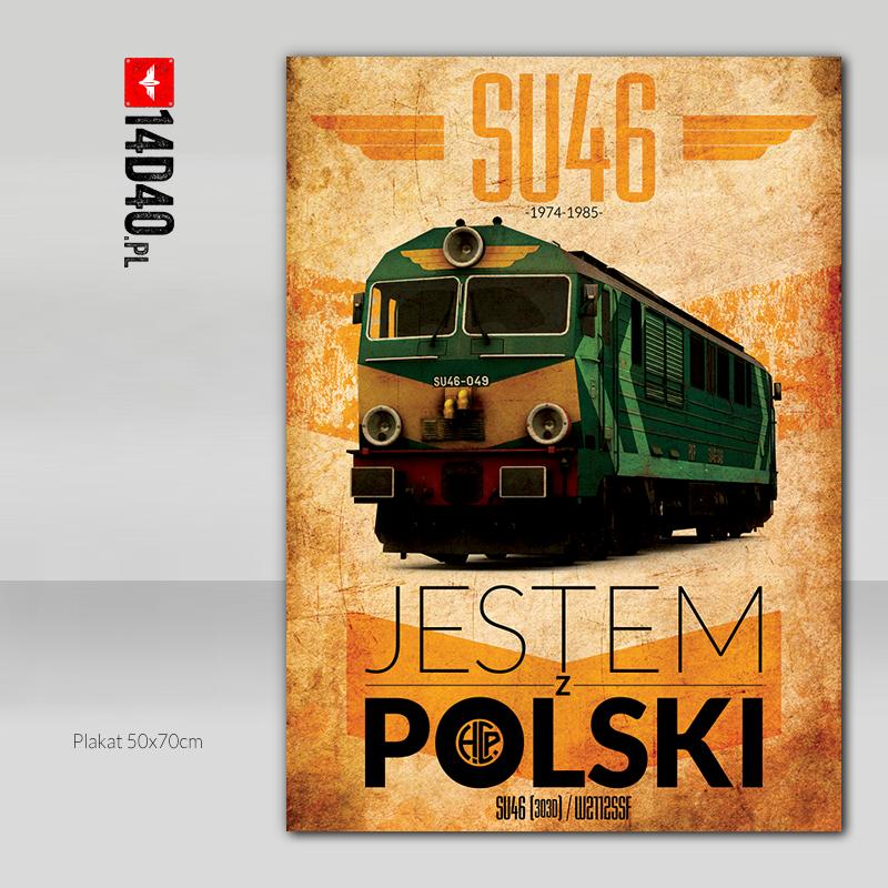"""Plakat """"Jestem z Polski"""""""