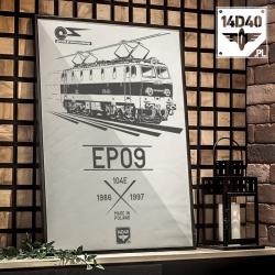 """Plakat """"EP09"""""""