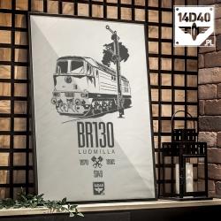 "Plakat ""BR130"""