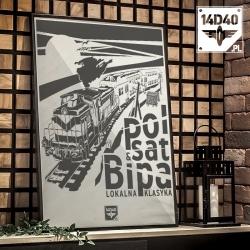 "Poster ""Polsat Bipa"""