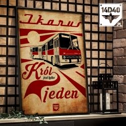 "Plakat ""Ikarus"""