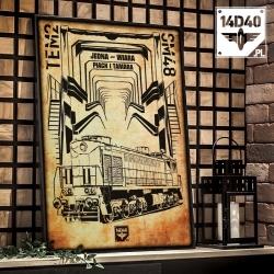 "Poster ""Tem2 / SM48"""