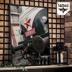 "Foto poster ""Škoda E499.049"""