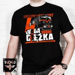 """T-shirt ET42 """"WAGA CIĘŻKA"""""""